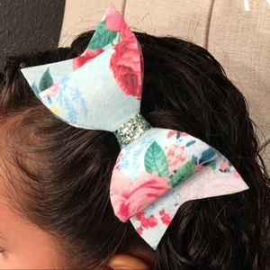 Flower Hair Bow🎀